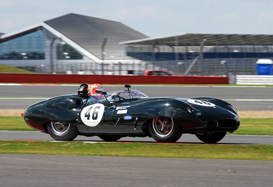 The JD Classics Costin Lister secured pole position ahead of Sunday's Stirling Moss Trophy Race