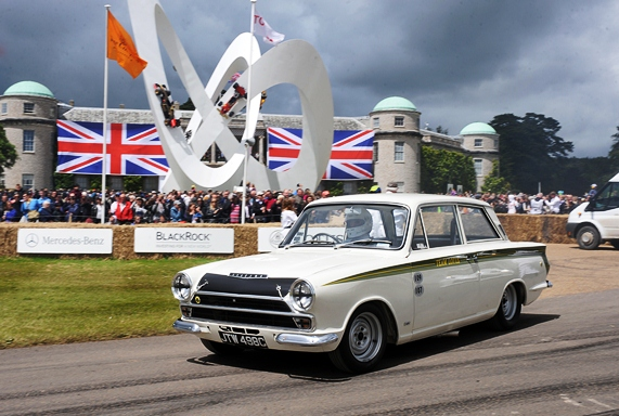 Celebrating its 60th anniversary this year, an array of Lotus' flocked to Goodwood in celebration, including the JD Classics Lotus Cortina which has previously been raced by iconic drivers such as Jack Sears and Jim Clark