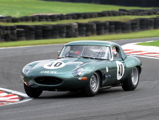 The JD Classics Lightweight E-Type stole the show in the year's E-Type Challenge finale at Oulton Park