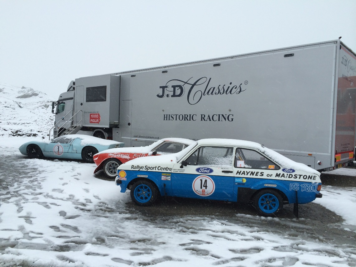 JD Classics were proud to be sponsoring the inaugural modern edition of the Bernina Granturismo