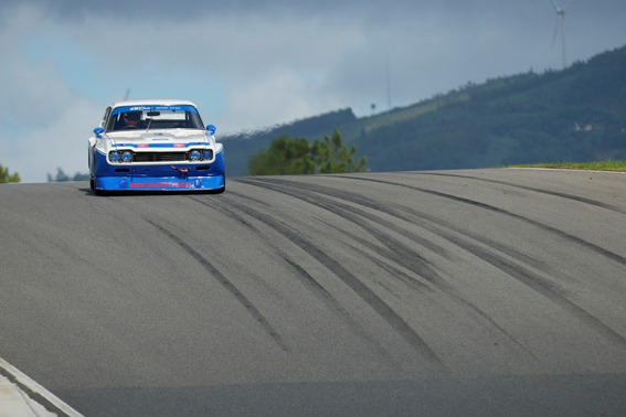 The stunning Ford Cologne Capri roared to a double victory in the Historic Touring Car Challenge Races
