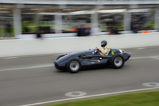 The Connaught A-Type ran consistently throughout the weekend's Hawthorn Trophy field