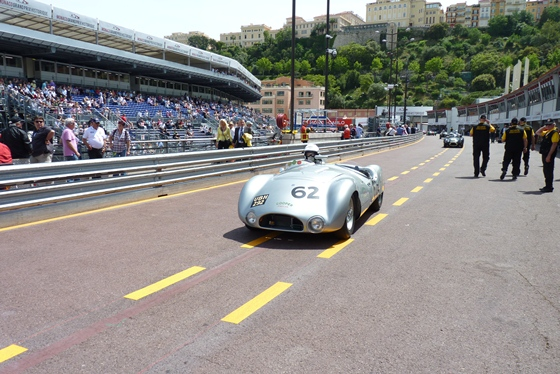 The Cooper T33 of JD Classics MD Derek Hood takes to the infamous Monaco street circuit.