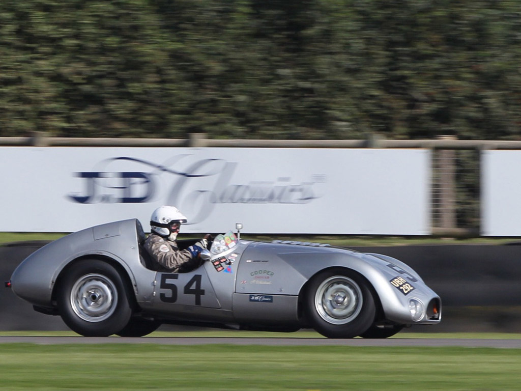 The JD Classics Cooper T33 of Derek Hood and Chris Ward drove to an impressive victory during Friday evening's 90 minute Freddie March Memorial Trophy race