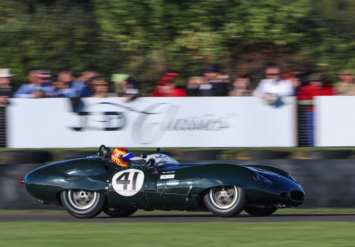 The JD Classics Costin Lister of Chris Ward claimed pole position ahead of Sunday's Sussex Trophy
