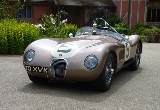 The JD Classics Jaguar C-Type celebrated another trophy in what was its 22nd award won in 25 races
