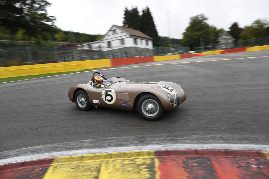 Having battled with the Cooper T38 of Fred Wakeman for the majority of the race, the JD Classics C-Type finished a close 2nd place, 1st in its class and 10th overall