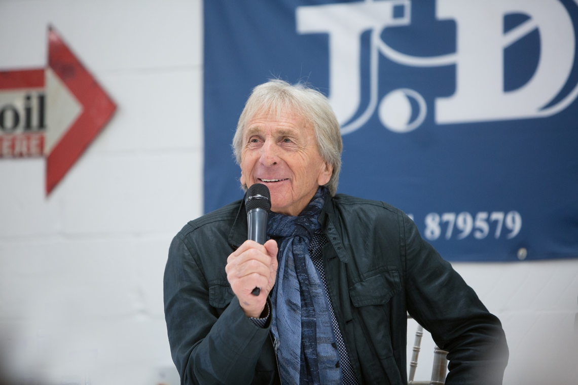 Derek Bell MBE was the guest speaker JD Classics' very special breakfast morning for 2016