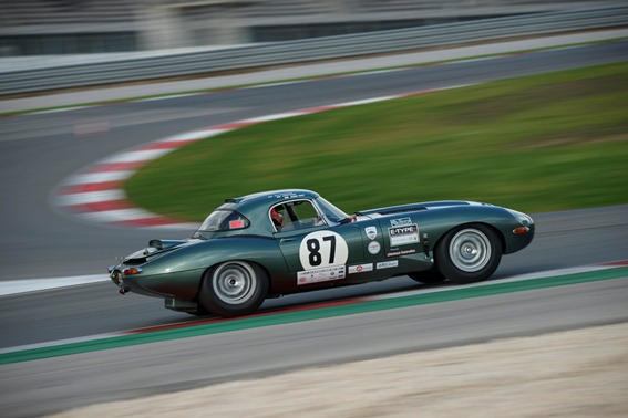 The Lightweight E-Type raced its way to a podium position within the grueeling 2 hour GT and Sport Car Cup Race