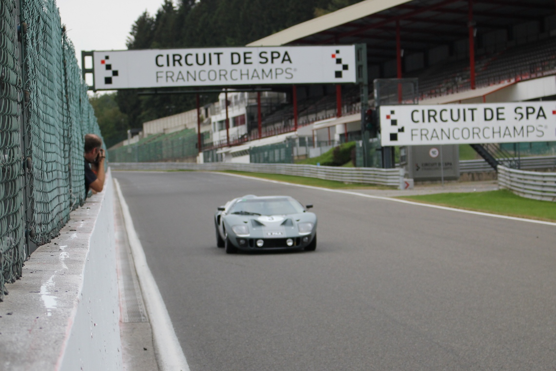 JD Classics will this weekend be competing their 1965 Ford GT40 in the famous Six Hours race at Spa Francorchamps