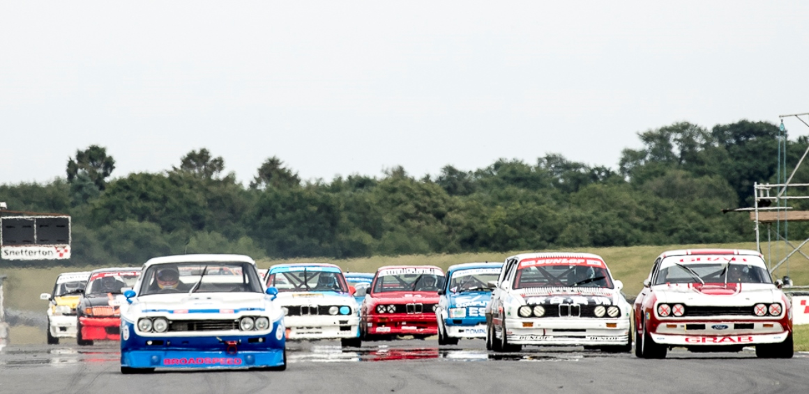 The Ford Cologne Capri started the 60 minute HTCC race in pole position at Snetterton this weekend