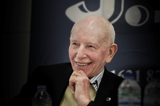 John Surtees was the Breakfast Morning's guest speaker