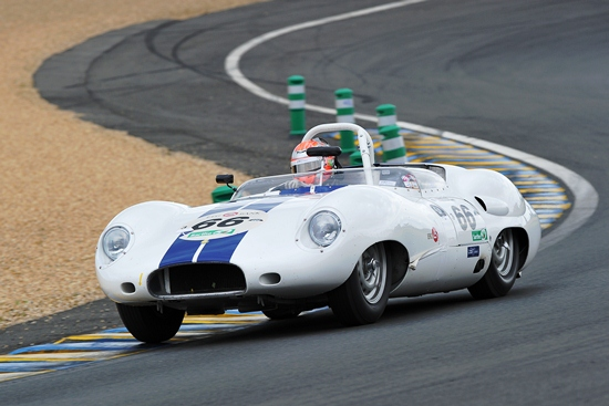 The 1958 Costin Lister also performed well throughout the weekend