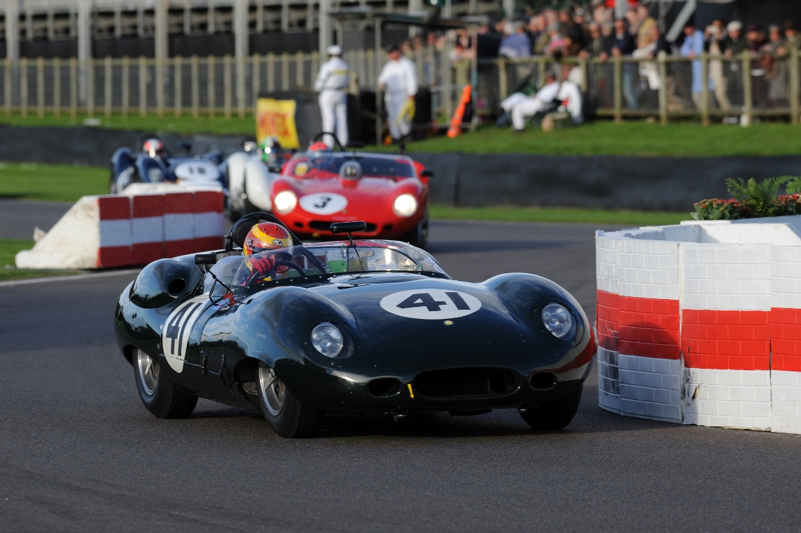In the final race of the weekend, Chris Ward drove the Costin Lister to a second place in the weekend's Sussex Trophy