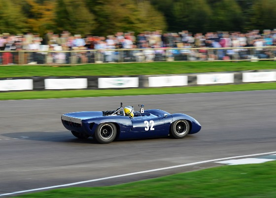 The Lola Chevrolet T70 Spyder ran well despite being taken off by a fellow competitor to finish the Whitsun Trophy race in 6th place