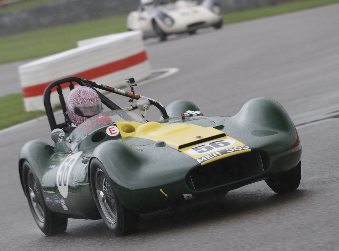 Having qualified in 18th place, the Lister Maserati of Nick Riley claimed a further five places within the Madgwick Trophy to finish the race in 13th