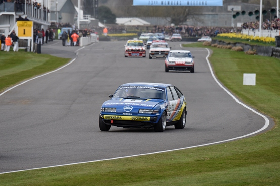 The Patrick Motorsport Rover SD1 overcame a challenging first race to take an impressive 2nd place in the 45 minute Gerry Marshall Trophy race