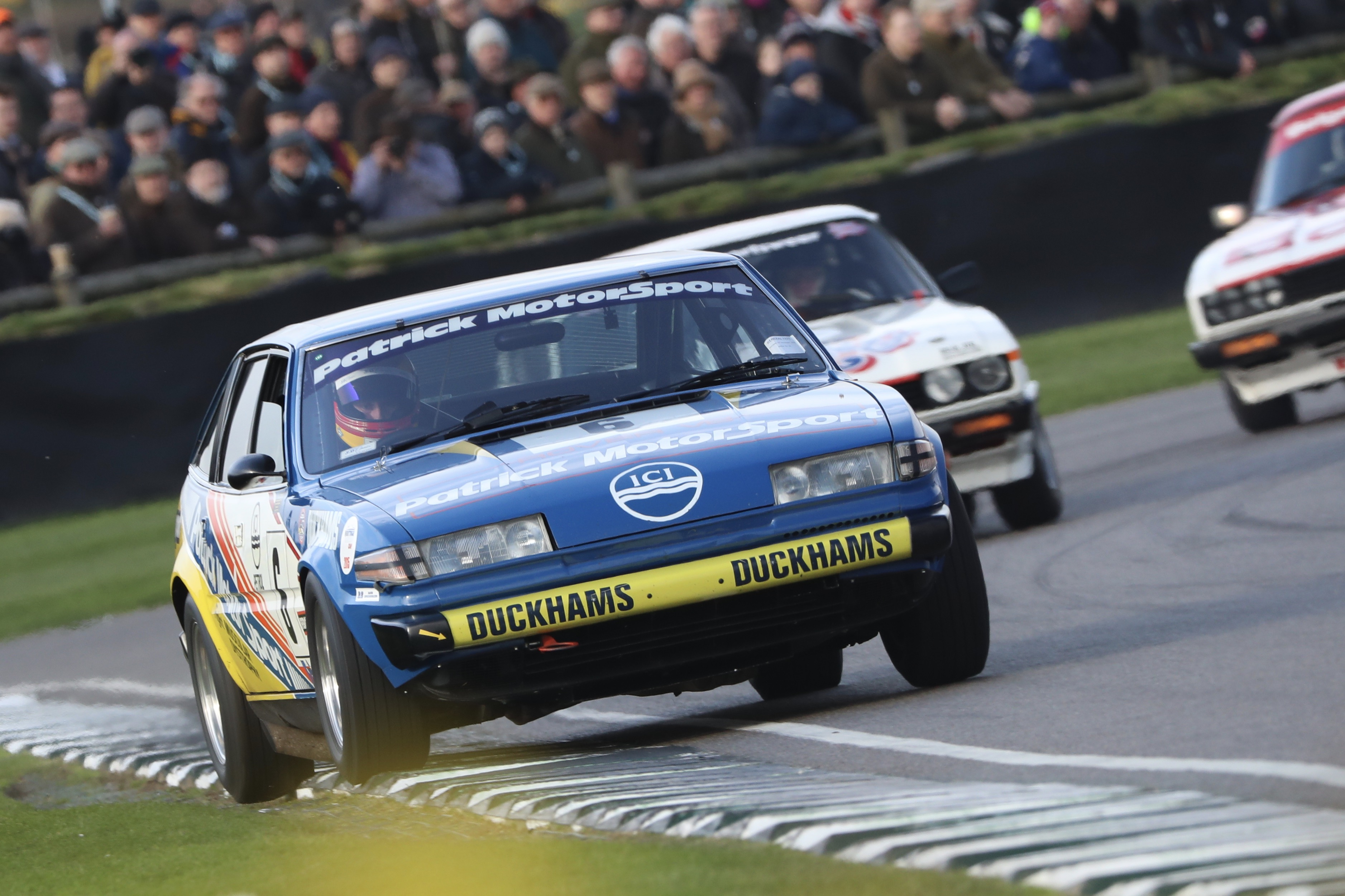 A dominant second race for the Rover SD1 awarded JD Classics a double victory in the weekend's Gerry Marshall Trophy.