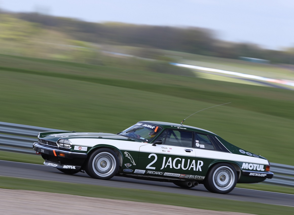 Despite suffering with a handling issue in qualifying, the TWR XJS still qualified in 11th place ahead of Saturday's 60 minute race