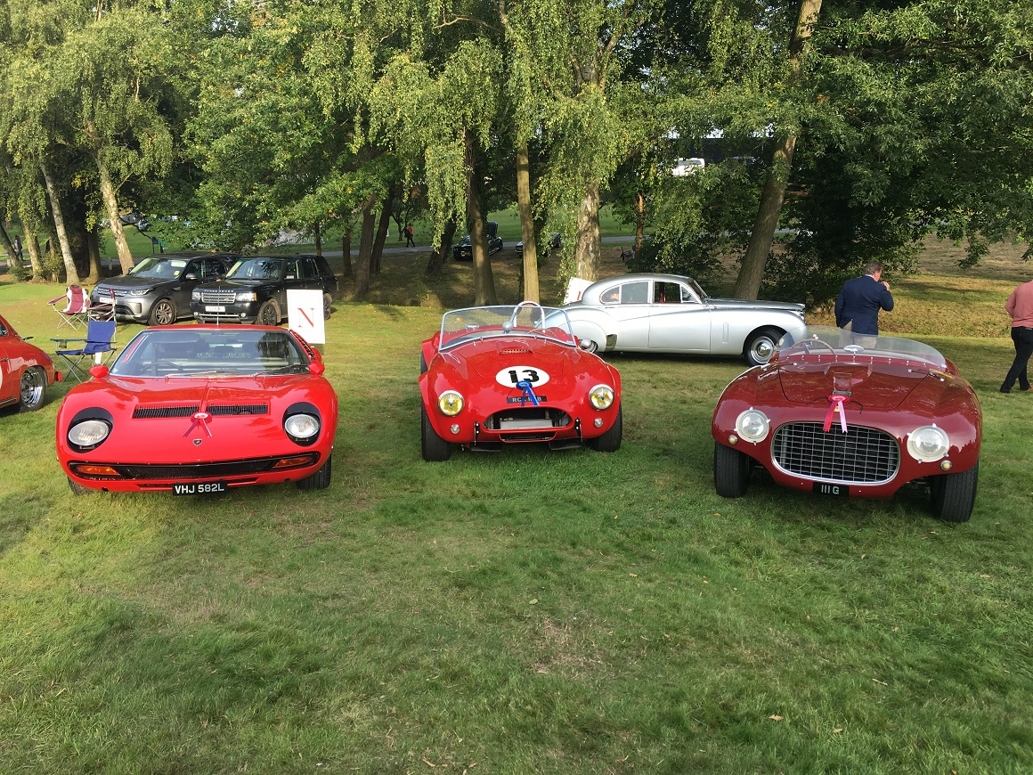 With four cars in attendance, JD Classics acheived 2 class wins and an overall 2nd place at this years Concours d'Elegance at The Warren.