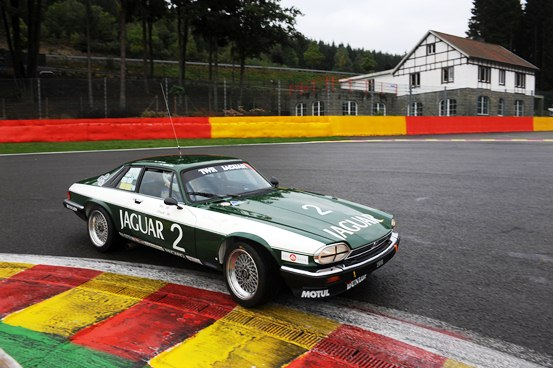The Tom Walkinshaw XJS of Andrew Smith and John Young qualified in an impressive 3rd place amongst a large field