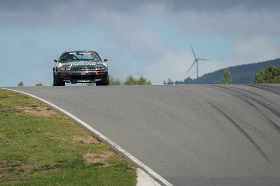 The XJS drove to a 4th place overall and 1st in class within the Historic Touring Car Challenge Race