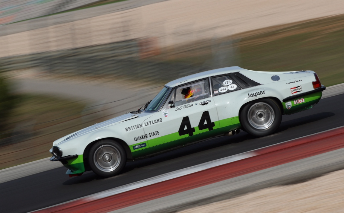 The Group 44 XJS drove a dominant race and acheived an unrivalled victory within the first of two Historic Touring Car Challenge races.