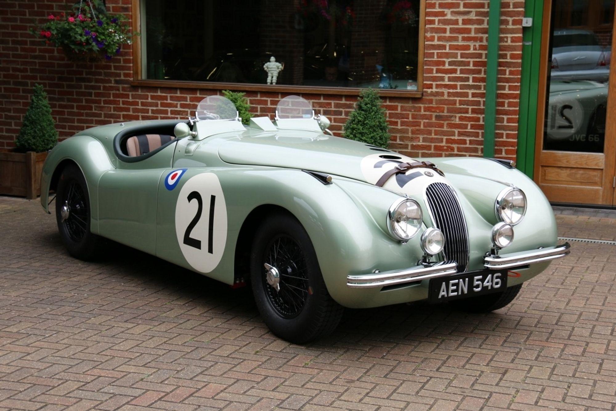1950 Jaguar XK120 Le Mans Competition Roadster   Sold ...