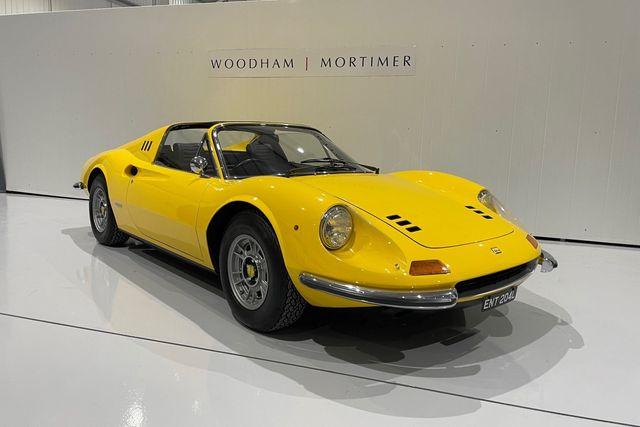 1973 Ferrari Dino 246 GTS RHD E Series