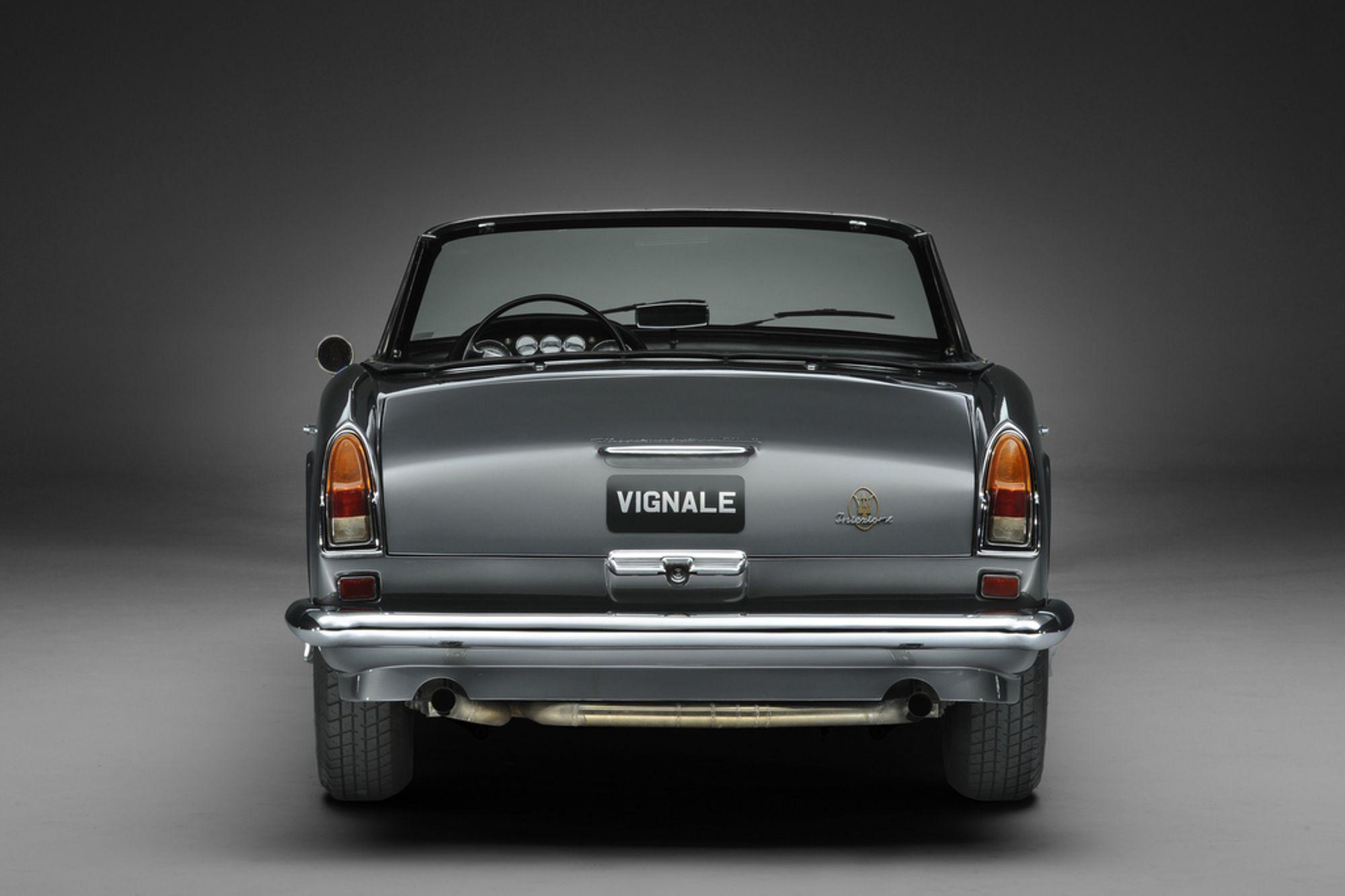 1963 Maserati 3500 GTI Vignale Spyder | Sold | Woodham ...