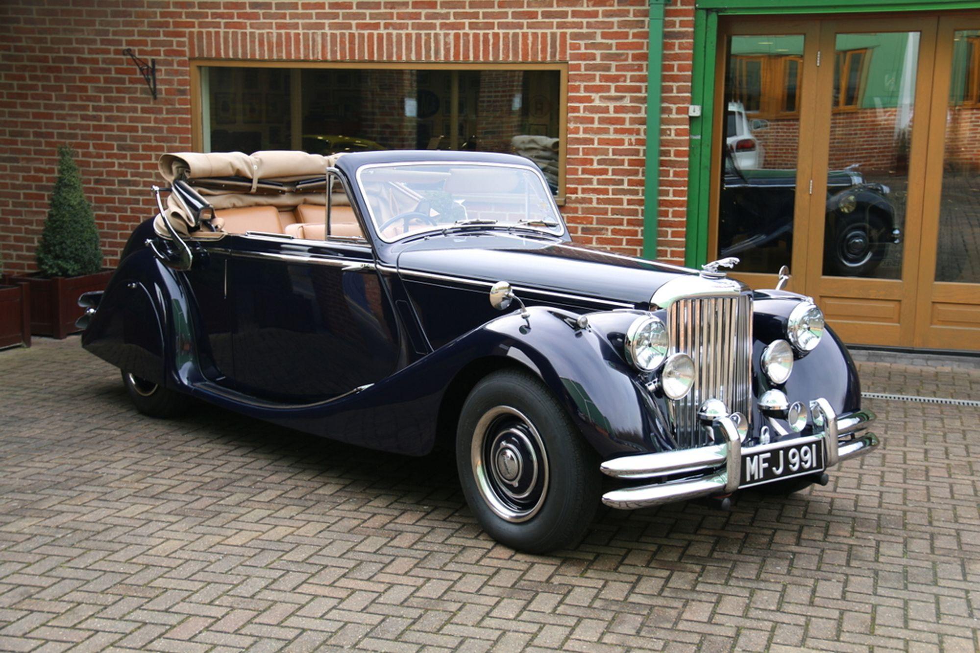 1951 Jaguar Mark V Drophead Coupe | Sold | Woodham Mortimer