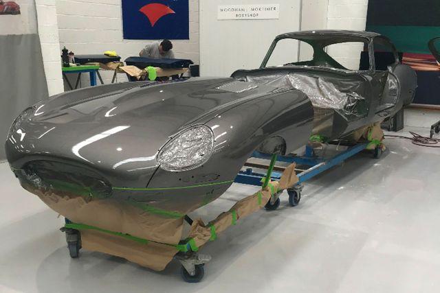 1965 Jaguar E-Type 4.2 Series 1 Fixed Head Coupe