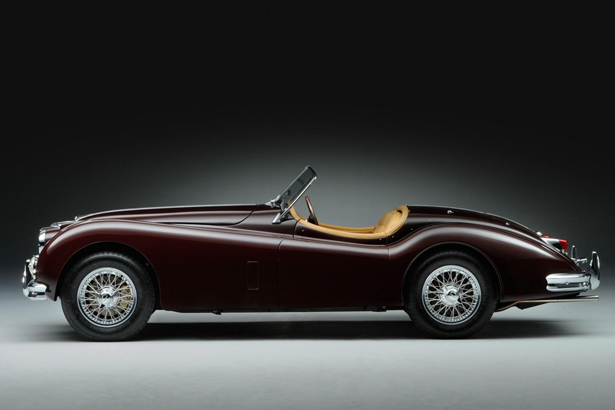 1955 Jaguar Xk140 Mc Lhd 3 4 Roadster Sold Woodham Mortimer