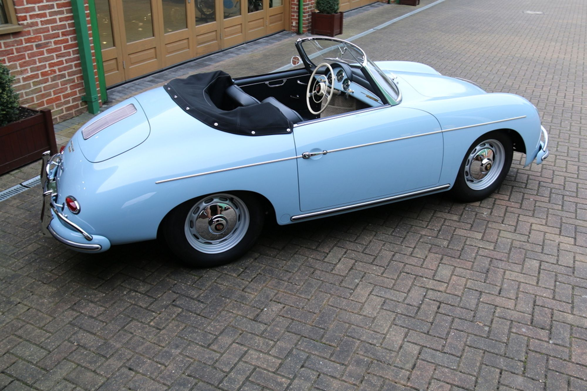 1959 porsche 356a 1600 convertible d sold woodham mortimer. Black Bedroom Furniture Sets. Home Design Ideas