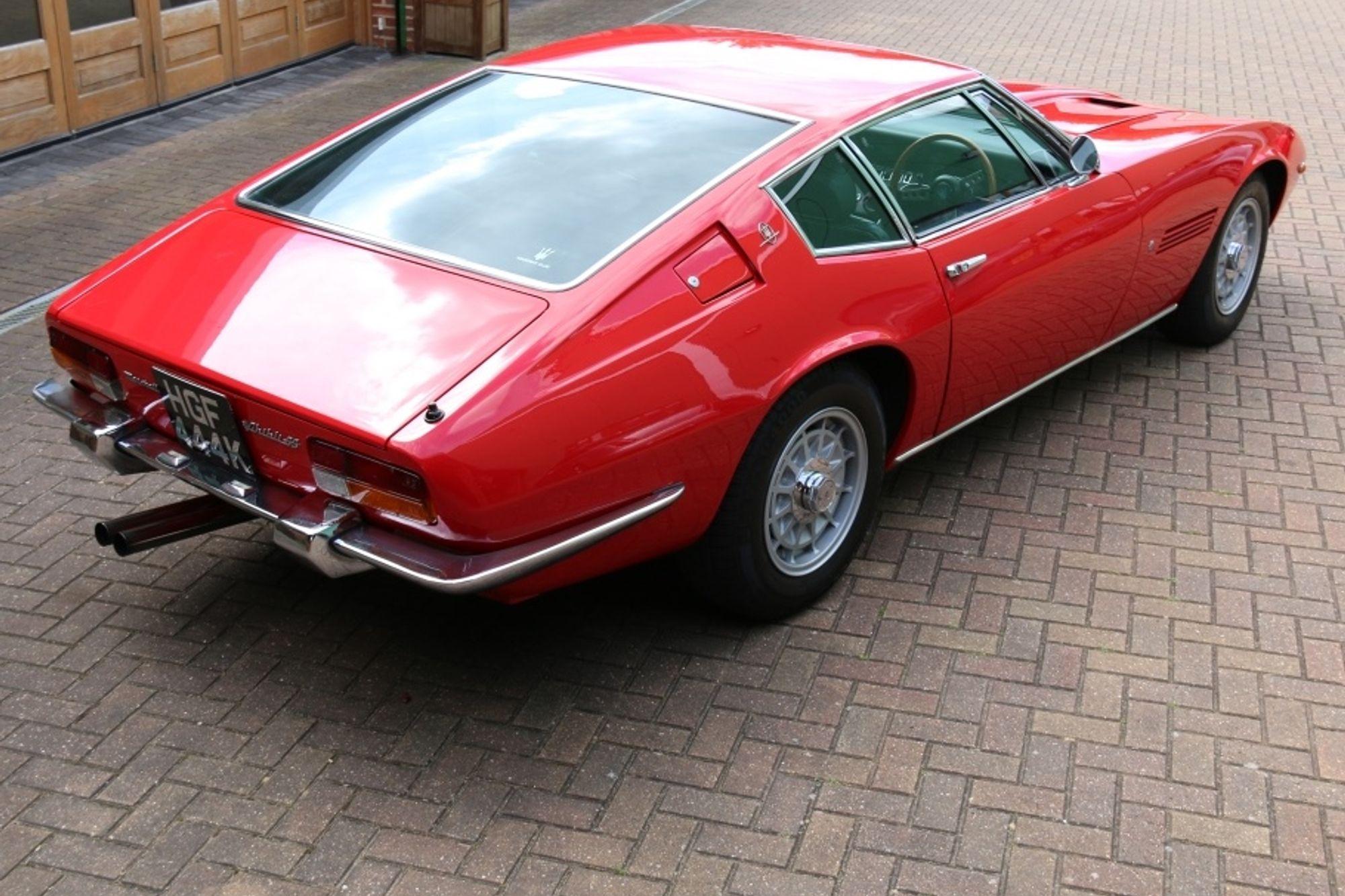 1972 Maserati Ghibli SS RHD | Sold | Woodham Mortimer