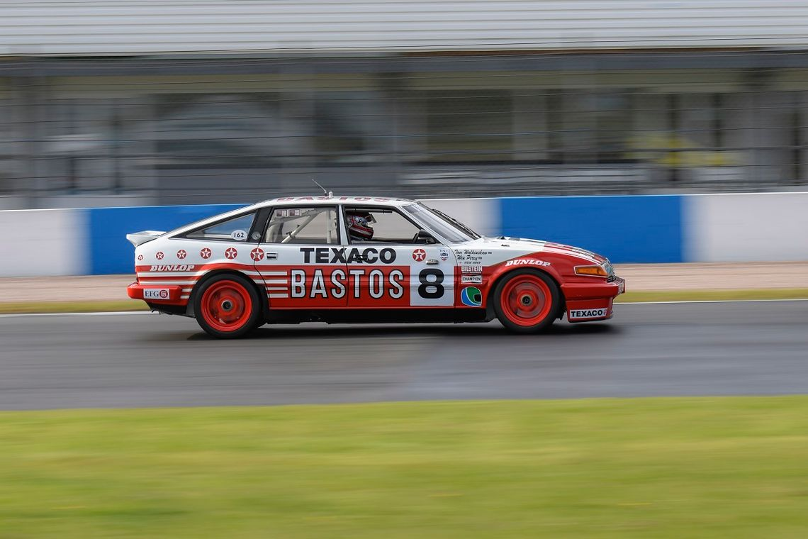 Chris Ward and Steve Soper apired up once again to qualify the Bastos Rover in 3rd place ahead of Saturday's HTCC with Tony Dron Trophy race
